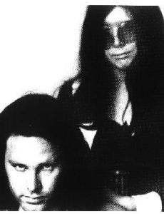 Jim Morrison and Patricia Kennealy