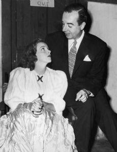 Judy Garland and Vincente Minnelli