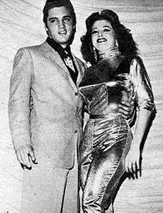 Elvis Presley and Tempest Storm