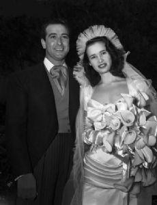 Gloria Vanderbilt and Pat DiCicco