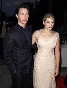 Keanu Reeves and Amanda De Cadenet
