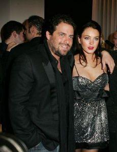 Lindsay Lohan and Brett Ratner