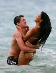 Nicole Scherzinger and Talan Torriero