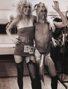 Iggy Pop and Sable Starr