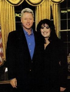Bill clinton dating history