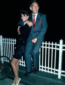 Joan Severance and Robin Leach