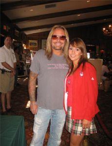 Vince Neil and Brandy Ledford