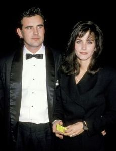 Courteney Cox and Paul Brown
