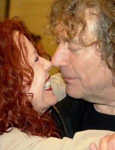 Pamela Des Barres and Robert Plant