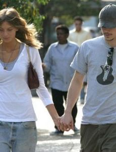 Josh Hartnett and Daria Werbowy
