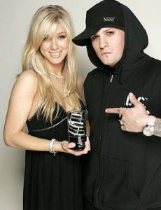 Caleigh Peters and Benji Madden
