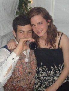 Emma Watson and Tom Ducker