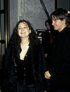 Sara Gilbert and Tobey Maguire