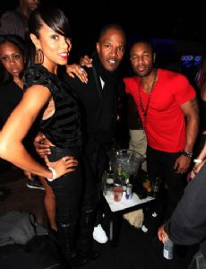 Meagan Good and Jamie Foxx