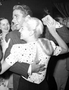 Lana Turner and Peter Lawford