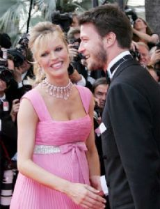 Eva Herzigova and Gregori Marsiaj