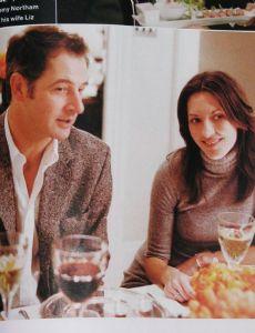 Jeremy Northam and Liz Moro