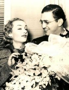 Carole Lombard and David O. Selznick