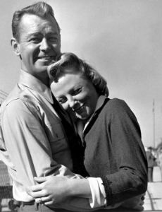 Alan Ladd and June Allyson