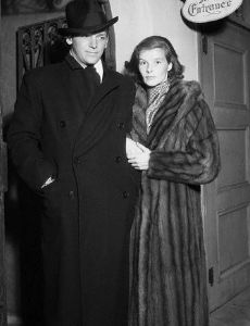 Douglas Fairbanks, Jr. and Katharine Hepburn