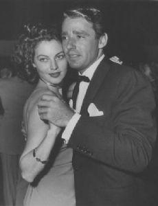 Ava Gardner and Peter Lawford