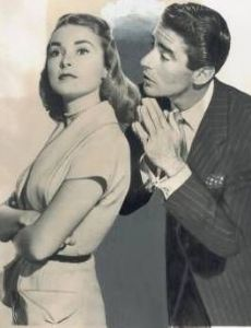 Peter Lawford and Janet Leigh