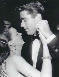 Peter Lawford and Judy Garland