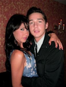 Shia LaBeouf and China Brezner