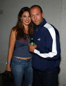 Jason Statham and Kelly Brook