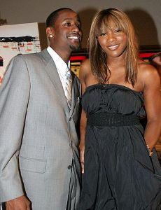 Serena Williams and Jackie Long