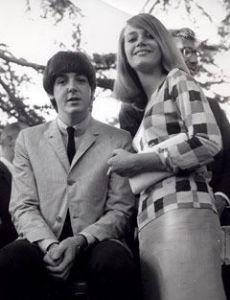 Peggy Lipton and Paul McCartney