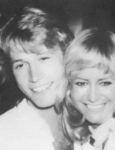 Susan George and Andy Gibb