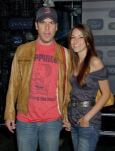 Dane Cook and Raquel Houghton