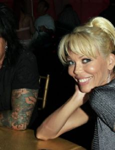 Nikki Sixx and Melissa London