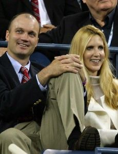 Ann Coulter and boyfriend David Wheaton
