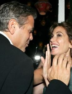 George Clooney and Teri Hatcher