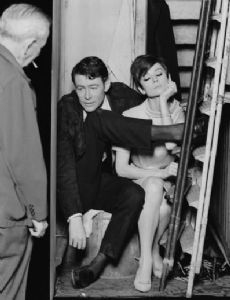 Audrey Hepburn and Peter O'Toole