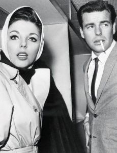 Joan Collins and Robert Wagner