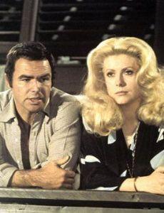 Burt Reynolds and Catherine Deneuve