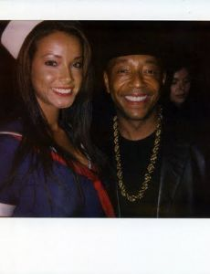 Russell Simmons and Porschla Coleman