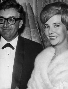 Peter Sellers and Anne Howe