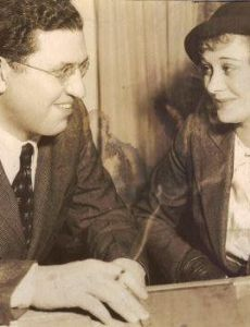 David Selznick and Dolores Costello