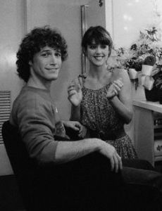 Andy Gibb and Pam Dawber