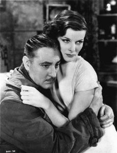 Katharine Hepburn and John Barrymore