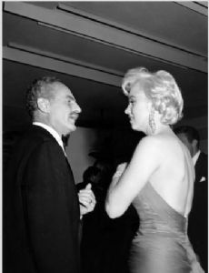 Marilyn Monroe and Darryl F. Zanuck