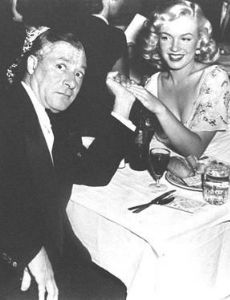 Marilyn Monroe and George Jessel