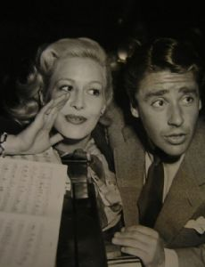 Marilyn Maxwell and Peter Lawford