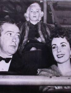 Pat DiCicco and Elizabeth Taylor