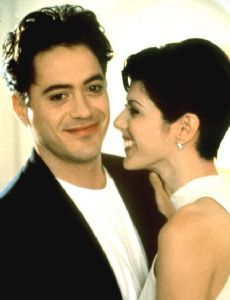 Marisa Tomei and Robert Downey Jr.