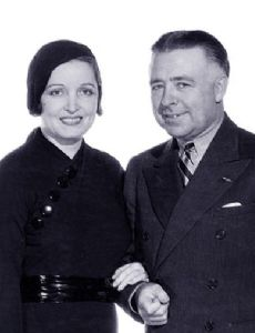 Alice Joyce and Clarence Brown